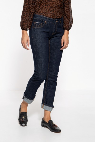 Red Selvage Jeans mit Stretch »Stella«