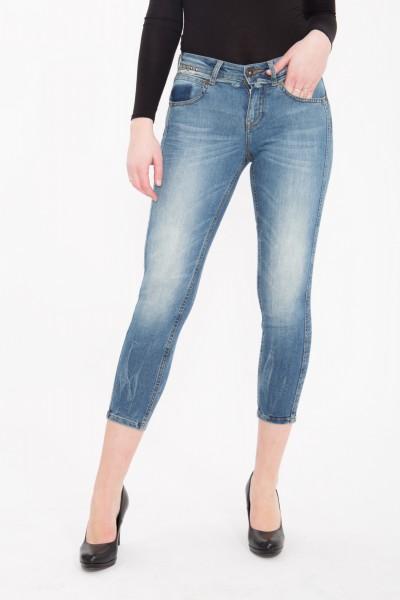 ATT JEANS - Capri Jeans mit Nieten Details, Slim Fit « Belinda » Belinda