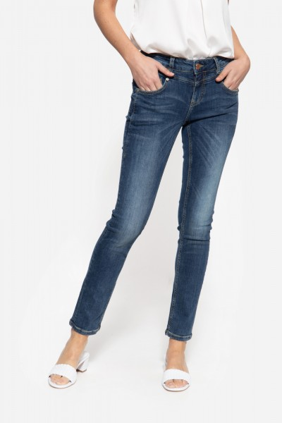 Slim Fit 5-Pocket Jeans aus elastischem Wonder Stretch »Zoe«