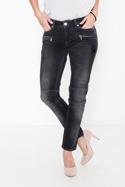 ATT JEANS Slim-Fit Jeans aus elastischem Jogg-Material Stacy