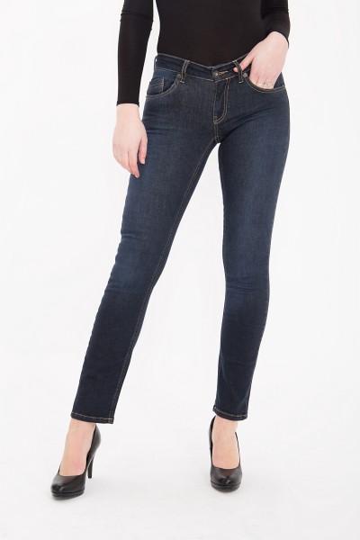 ATT JEANS Slim Fit Jeans mit kontrastigen Absteppungen Belinda