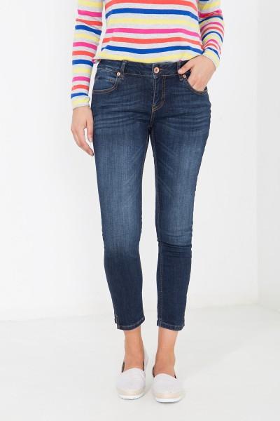 ATT JEANS 7/8 Jeans mit geschlitztem Saum, Slim Fit Leoni