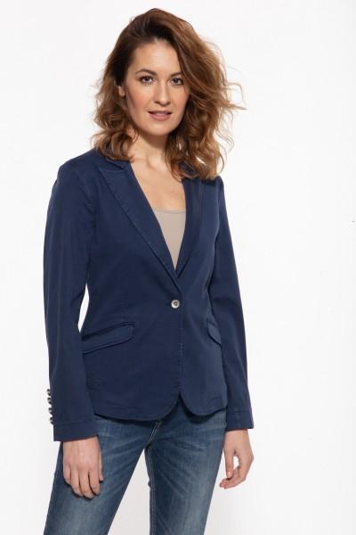 Jeansjacke im Blazer-Schnitt »Darcy«