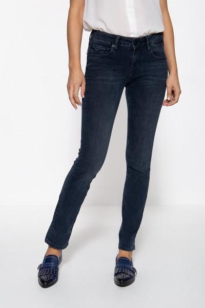 ATT JEANS Straight Cut Jeans mit Stickereien auf den Gesäßtaschen Stella