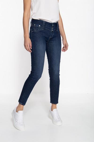 ATT JEANS Slim Fit Jeans mit breitem Bund und markanten Aufsatztaschen Leoni