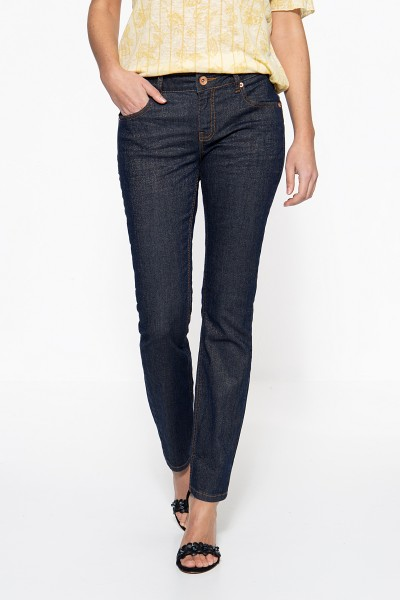 ATT JEANS Slim Fit Jeans in Glitzeroptik Belinda