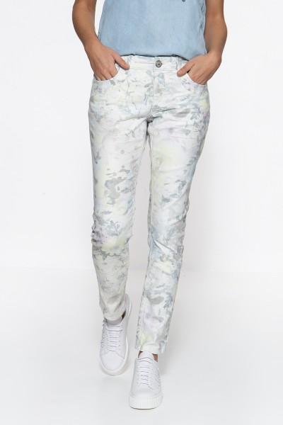 ATT JEANS Slim Fit Jeans »Lindsey« mit floralem Muster Lindsey